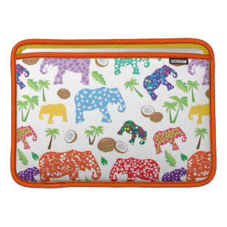 Tropical Elephants Sleeve For MacBook Air