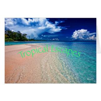 Tropical Escapes Card