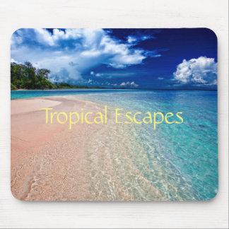 Tropical Escapes Mouse Pad