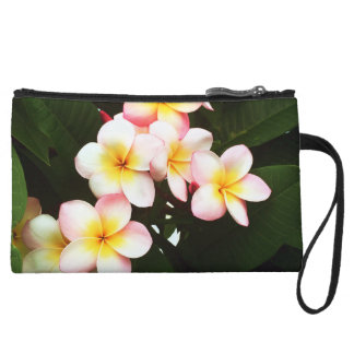 Tropical Exotic Frangipani Flower Wristlets