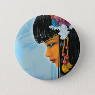 Tropical Faerie 2 Inch Round Button