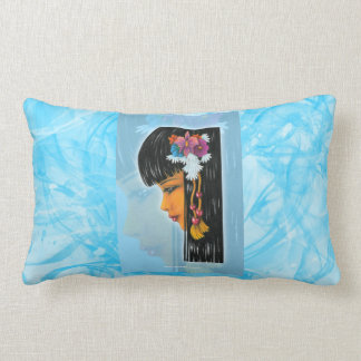 Tropical Faerie Lumbar Pillow