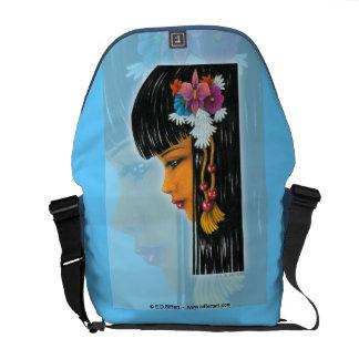 Tropical Faerie Messenger Bag