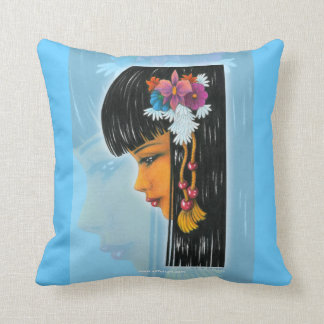 Tropical Faerie Throw Pillow