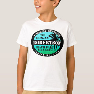Tropical Family Reunion Survivor  Shirt