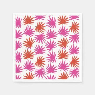 Tropical Fan Cocktail Napkins Paper Napkins