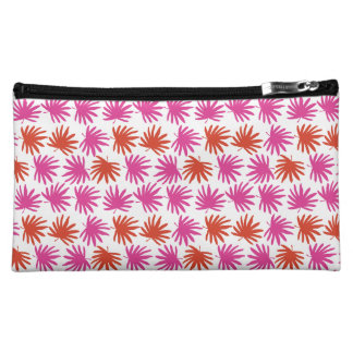 Tropical Fan Cosmetics Bag