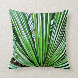 Tropical Fan Palm Cushion