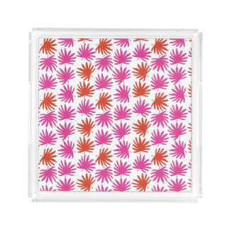 Tropical Fan Print Tray