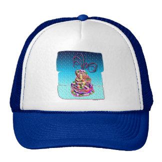 tropical fancy cake 1 trucker hat
