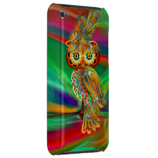 Tropical Fashion Queen Owl iPod Touch Covers