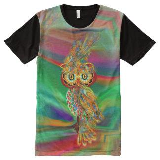Tropical Fashion Queen Owl Shirt