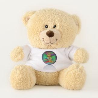 Tropical Fashion Queen Owl Teddy Bear