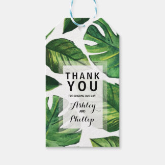 Tropical Favor Tag
