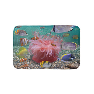 Tropical Fish Bath Mats