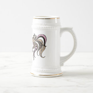 Tropical Fish Beer Stein