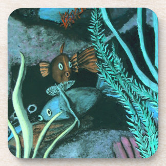 Tropical Fish Coral Reef Coaster