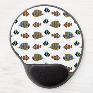 Tropical Fish Frenzy Gel Mousemat (choose colour) Gel Mouse Pad