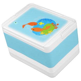 Tropical fish Igloo 12 Can Cooler