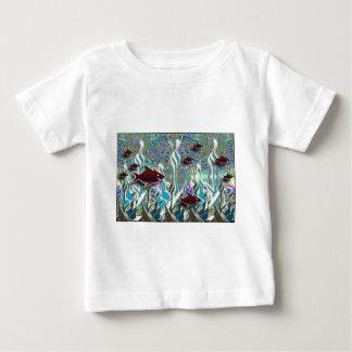 Tropical Fish in a Fantasy Garden Shirt