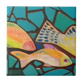 Tropical Fish Mosaic Tile