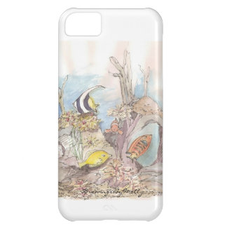 Tropical Fish - original watercolor by Molly iPhone 5C Cases