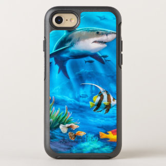 Tropical Fish OtterBox Symmetry iPhone 8/7 Case