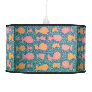 Tropical Fish Pattern Lamp