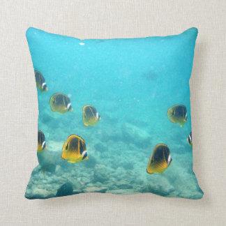 Tropical Fish Underwater Pillow