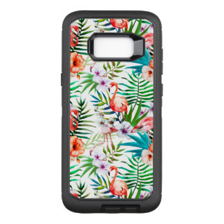 Tropical Flamingo Samsung Galaxy S8+ Defender Case
