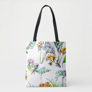 Tropical flora and fauna tote