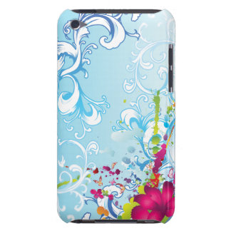 Tropical Floral Fantasy iPod Case-Mate Case