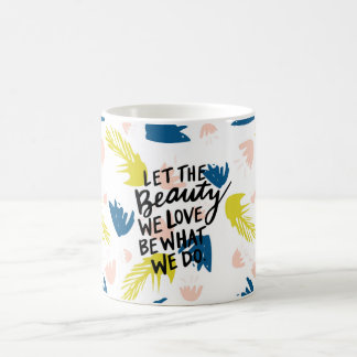 Tropical Floral Inspirational Mug