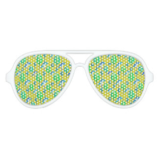 Tropical Floral Pattern Party Shades