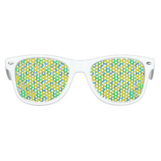 Tropical Floral Pattern Party Sunglasses