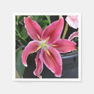 Tropical Flower Disposable Napkins