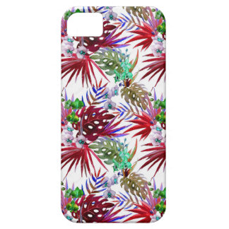 Tropical flower pattern iPhone 5 covers