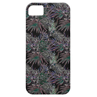 Tropical flower pattern NEON iPhone 5 Case