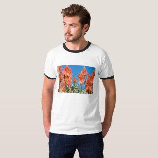 tropical flower t shirt