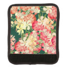 Tropical Flowers Floral Luggage Handle Wrap
