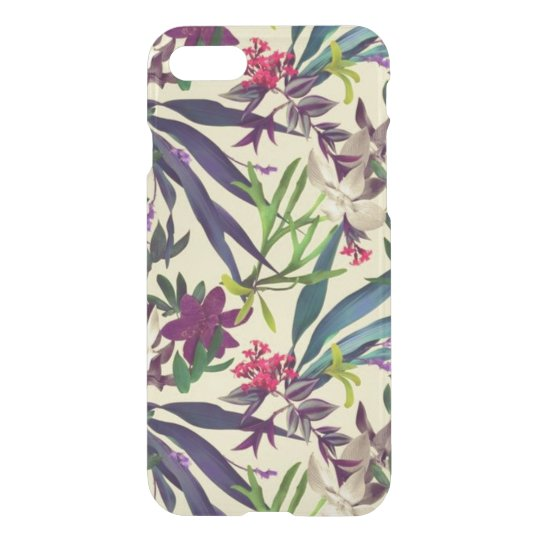 Tropical flowers iPhone 7 case