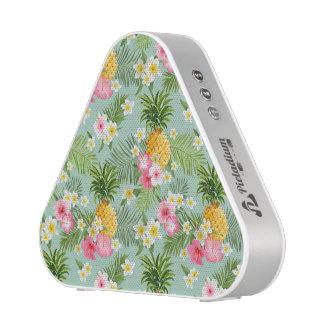 Tropical Flowers & Pineapples Blueooth Speaker