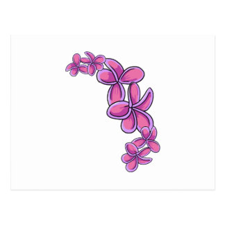 Tropical Flowers Post Card