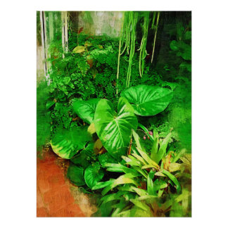 tropical foliage collection , fairchild tropical g poster