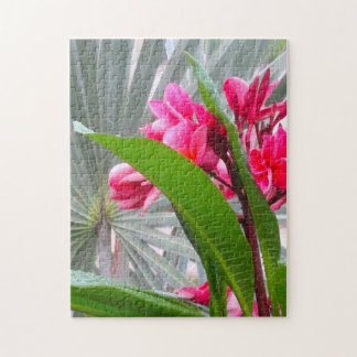 Tropical Foliage Jigsaw Puzzle
