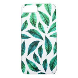 Tropical Foliage Pattern iPhone 8/7 Case