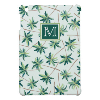 Tropical Foxtail Palm | Add Your Initial iPad Mini Cases