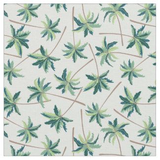 Tropical Foxtail Palm Fabric