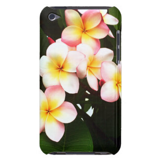 Tropical Frangipani Flower Barely There iPod Covers