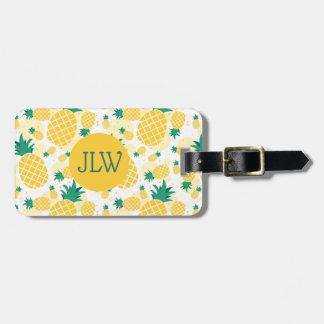 Tropical Fresh Pineapple Luggage Tag